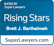 Super Lawyers – Brett J. Barthelmeh