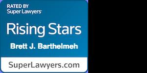 Super Lawyers – Brett J. Barthelmeh